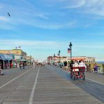 The Ocean City, New Jersey Boardwalk is just a few minutes' stroll from The Beachcomber family vacation rental.